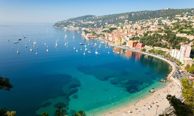 Lua de mel na Europa na Riviera Francesa