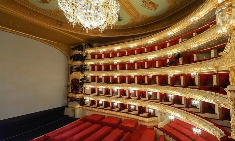 Teatro Bolshoi interior