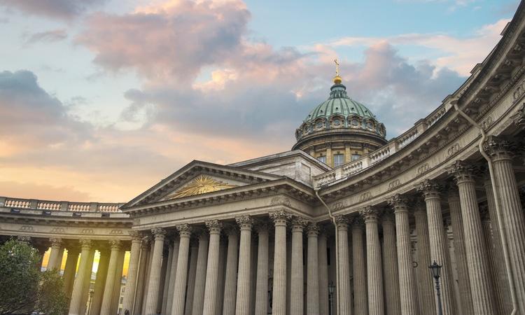 Catedral Kazan em São Petersburgo