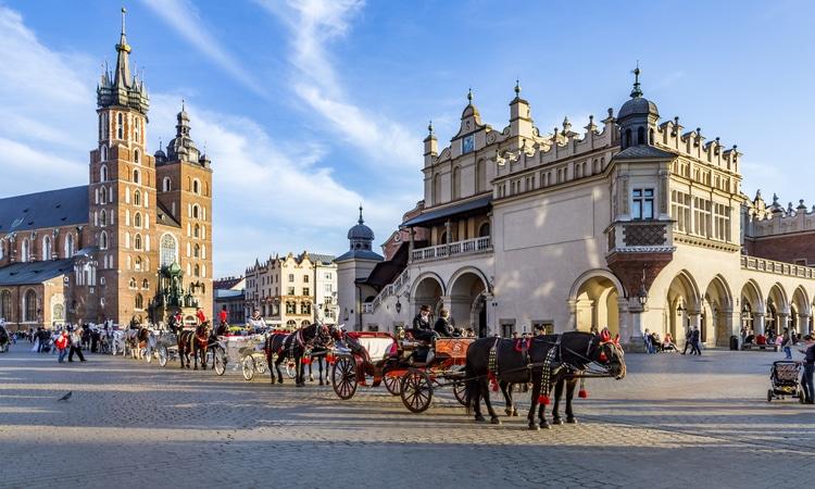 Cracóvia no Leste Europeu