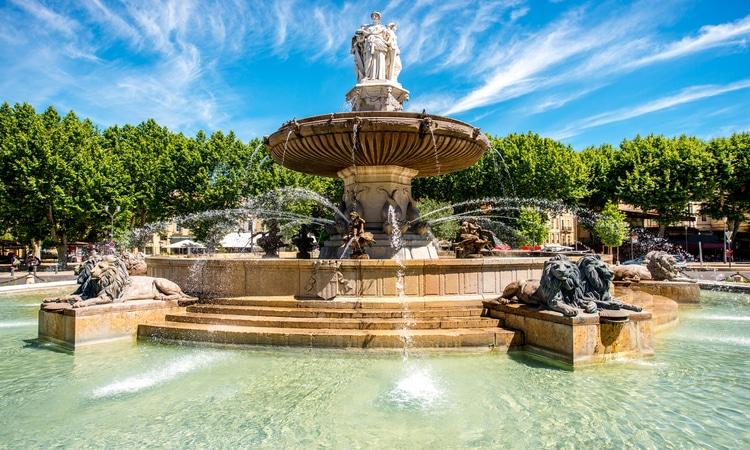 Fonte em Aix-en-Provence