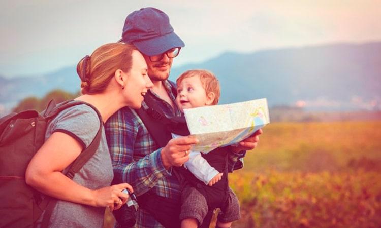 lugares para viajar com bebe na europa
