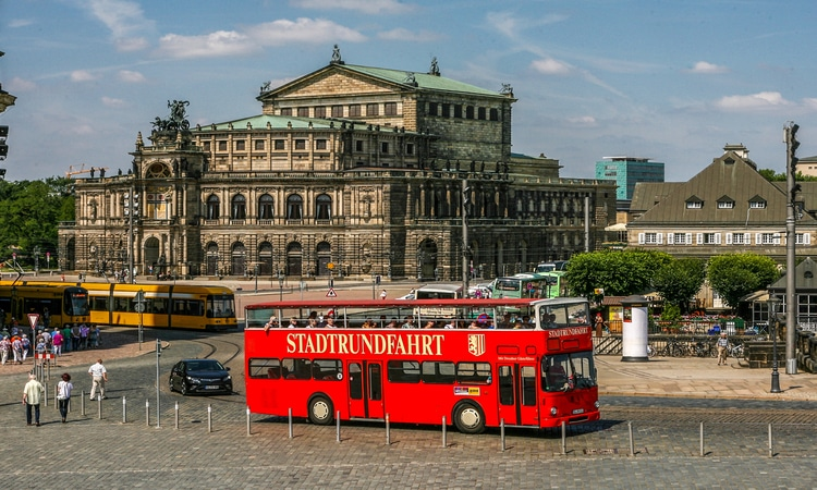 Ônibus em Dresden