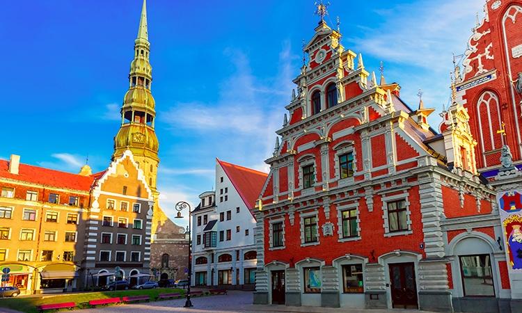Cabeças Negras Riga Letônia