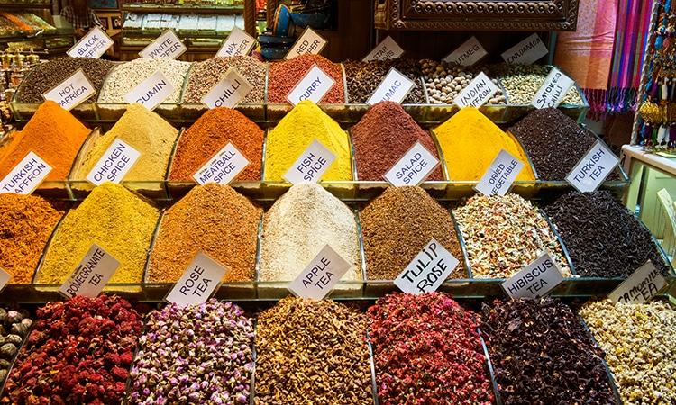Istambul Bazar das Especiarias