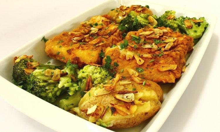 bacalhau prato tipico em Portugal