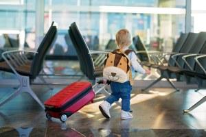 Mala de viagem para criança