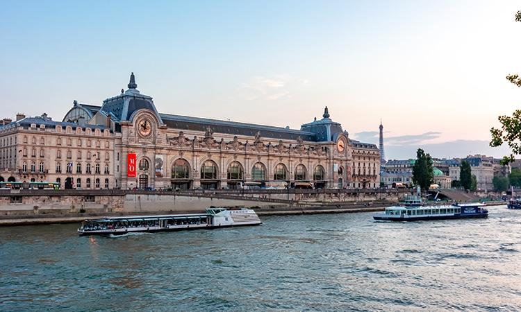 Museu D'Orsay Rio Sena