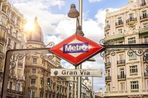 transportes em Madri