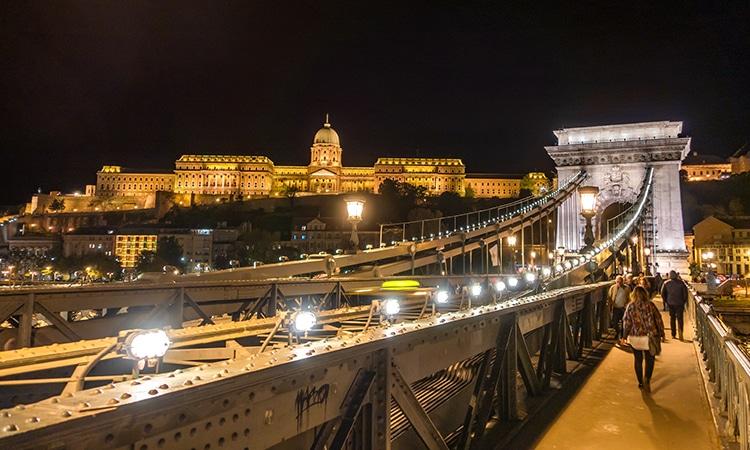Budapeste Ponte das Correntes