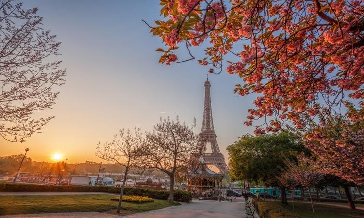 Europa em março França