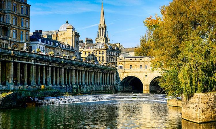 O que fazer na Inglaterra Bath