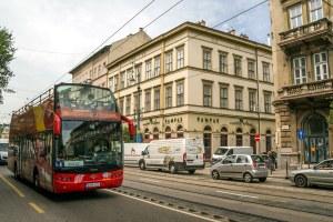 Ônibus de turismo em Budapeste