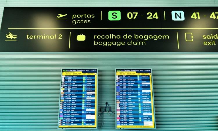 aeroporto em Portugal