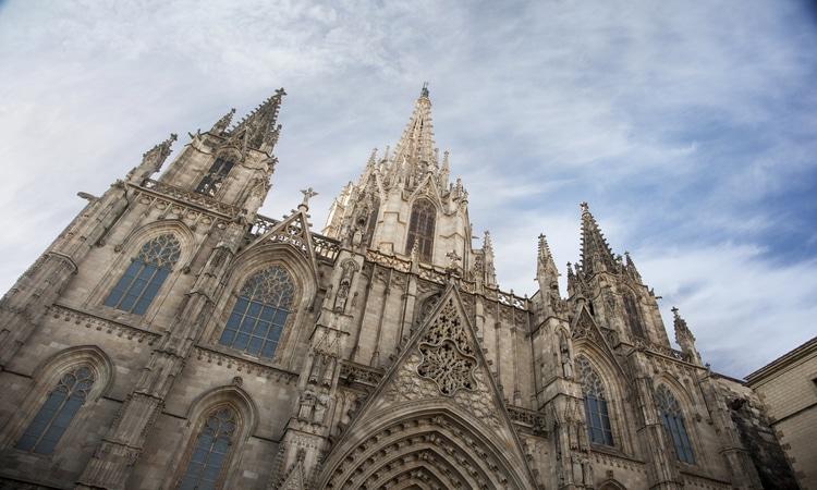 Detalhes da Catedral de Barcelona