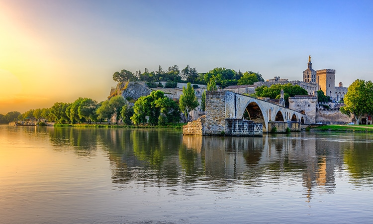 Turismo na França Avignon