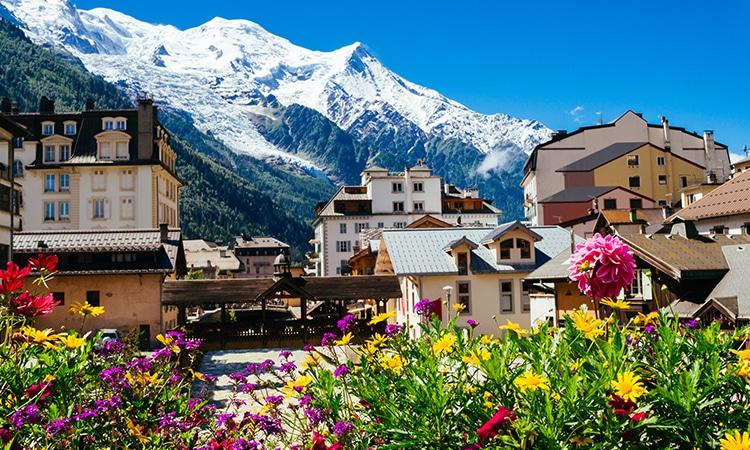 Turismo na França Chamonix