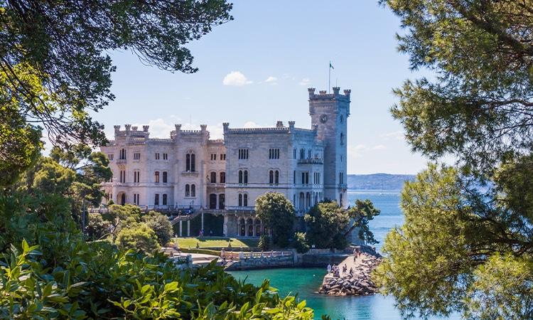 Itália de carro Trieste