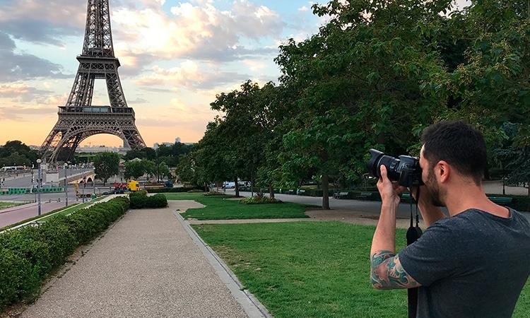 Minha primeira viagem a Europa Paris