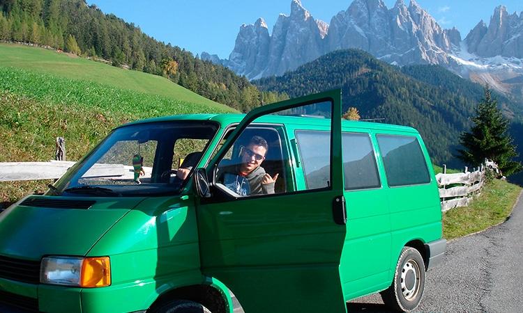 Viagem de carro a Europa