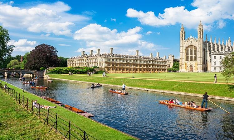Cambridge principais cidades da Inglaterra