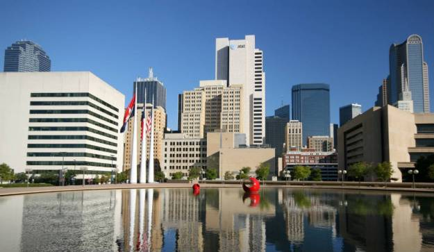 Dallas es también un centro de negocios. Foto: Verena Wolff/dpa