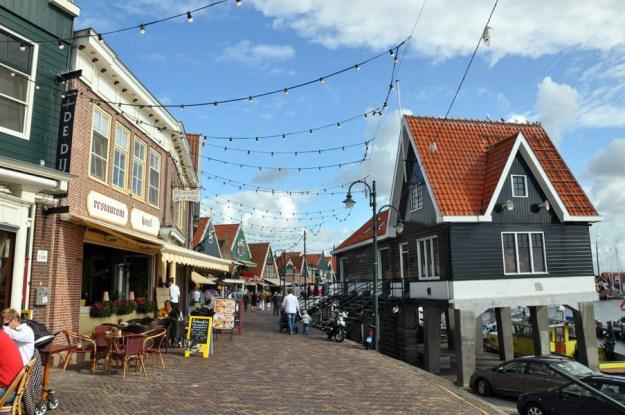 Volendam, donde conviven las mejores estampas holandesa