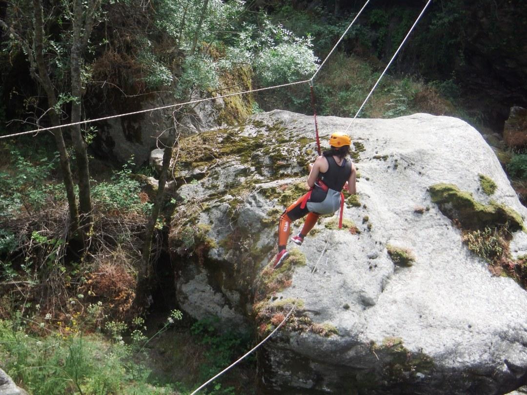 barranco del Pozo Airon con www.turismoactiva.com Barranquismo en Salamanca (93)