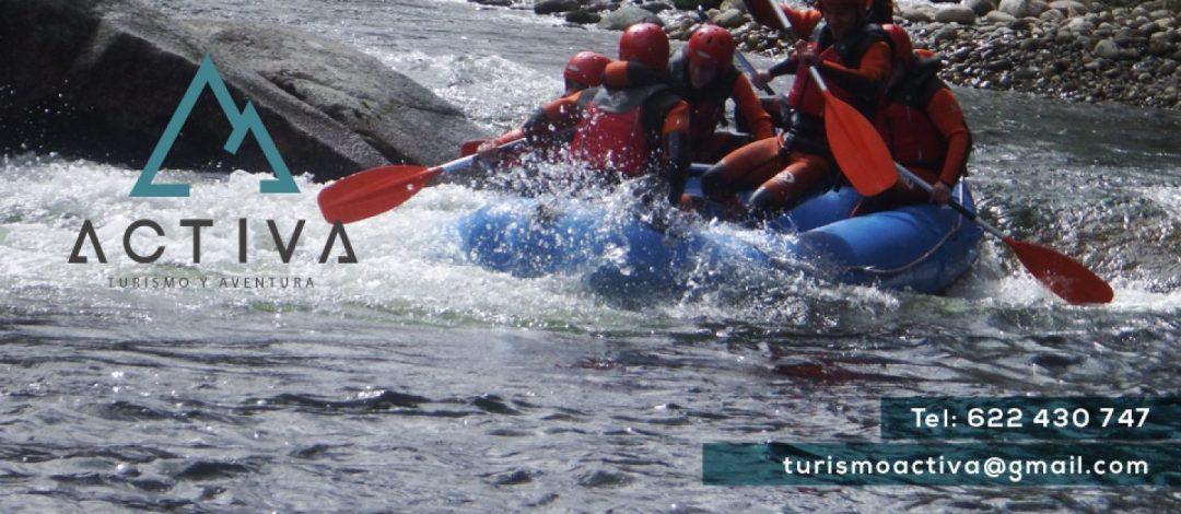 rafting Sierra de Gredos Madrid