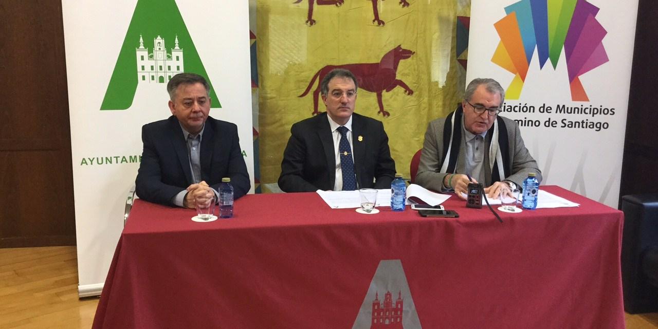 Astorga albergará la sede permanente del Foro de Empresas de la Asociación de Municipios del Camino de Santiago