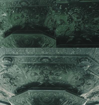 En la fuente se puede ver la representacion de los 8 dioses de los vientos