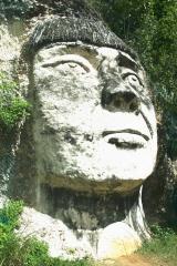CARA DEL CACIQUE MABODAMACA EN ISABELA