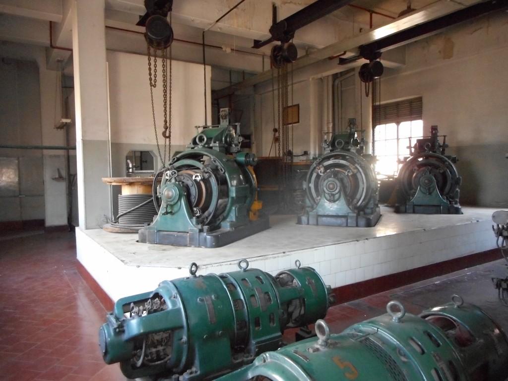 Casa da máquinas dos antigos elevadores do Shopping Light - Foto: Divulgação