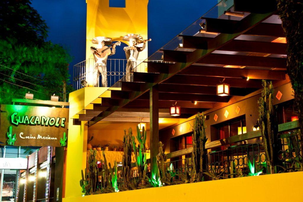 Fachada do Guacamole em Balneário Camboriú (fotos divulgação~)