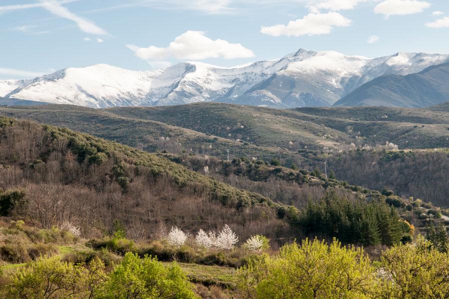 Los Montes Aquilianos nevados