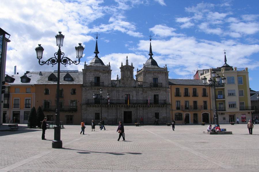 Ayuntamiento de Ponferrada en Plaza las Eras