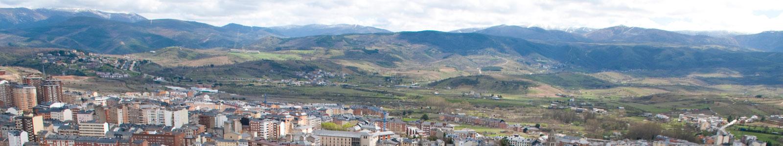 Panorámica municipio de Ponferrada