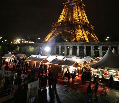 Mercadillos de Navidad en Paris