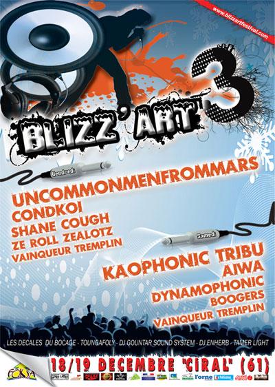"""Festival """"Blizz'art"""" del 18 al 19 de diciembre"""