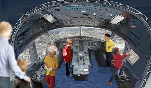 Museo del Aire y del Espacio – nueva zona para niños de 6–12 años