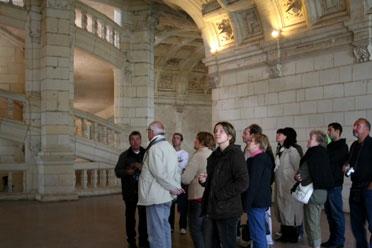 Visita guiada del Castillo de Chambord