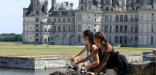 El Loira en bicicleta