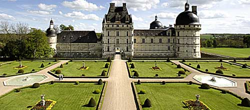 """""""El jardín de Antonin"""" en el Château de Valençay"""