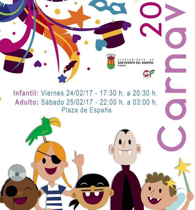 Carnavales de San Vicente del Raspeig 2017