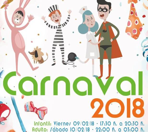 Carnaval 2018 San Vicente del Raspeig-Programa