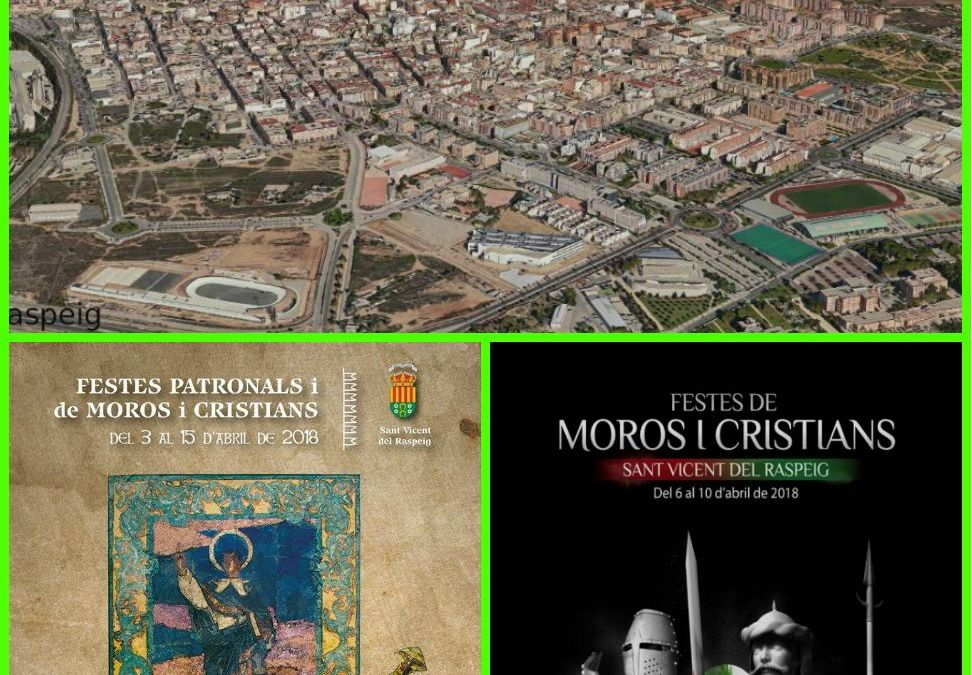 Fiestas Patronales y de Moros y Cristianos 2018 . #FiestasSVR