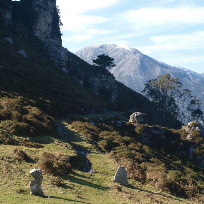Pico Gabia, Geodésico