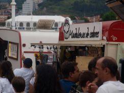 Ribadesella Festival comida en la calle