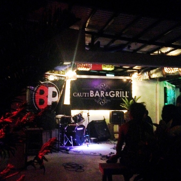 Cauti Bar and Grill at Night - Baler