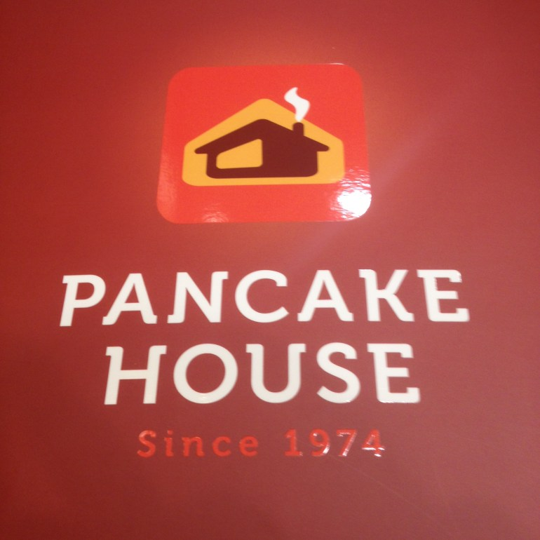 The New Pancake House Logo | Turista Boy
